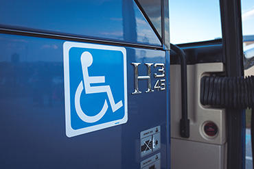 handicap accessible bus
